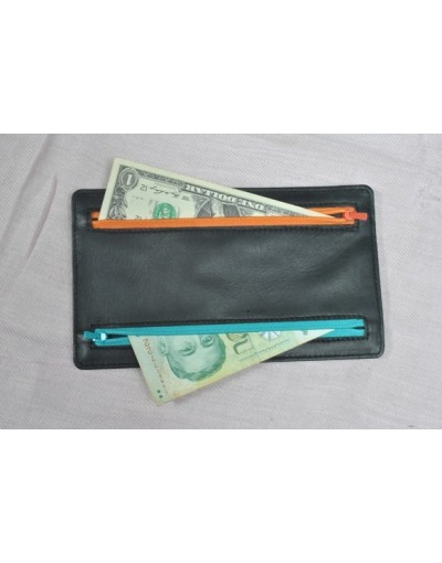4 Zipper Currency Holder