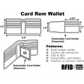 Card-Removing Wallet