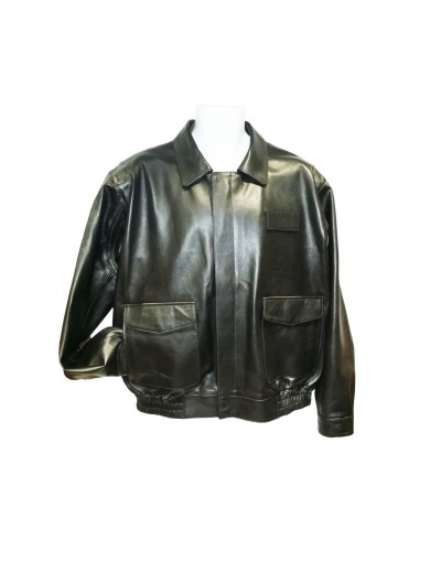 FedEx Leather Uniform Jacket with Torso ZipOut Thinsulate & ZipOut Sleeve Liner