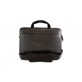 Top Zipper Briefcase Carbon Luggage