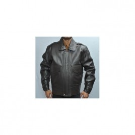 UPS Leather Jacket with Zip-Out Torso Thinsulate Liner
