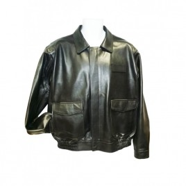 Womens FedEx Leather Uniform Jacket with Torso ZipOut Thinsulate & ZipOut Sleeve Liner