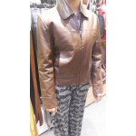 Soft Brown Womens Leather Jacket