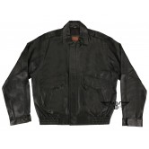 Mens Outback Leather Bomber Jacket