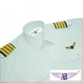 Custom 100% Giza Cotton Pilot Shirt - Women