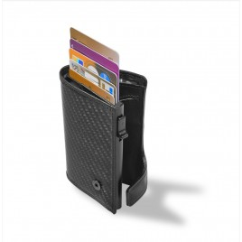 CARBON FIBER+LEATHER WALLET