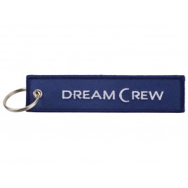 DREAM CREW EMBROIDERED BAG TAG
