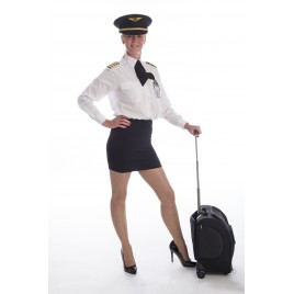 Custom Polycotton Pilot Shirt - Women