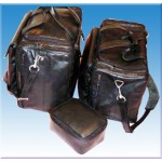 Tall Size Airside Pilot/Commuters Leather Bag