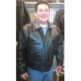 United Flight Pilot Uniform Leather Jacket