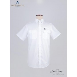 POLYCOTTON CUSTOM PILOT SHIRT MEN