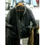 Womens Reversible Coat - Leather Jacket