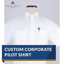 CUSTOM CORPORATE PILOT SHIRT