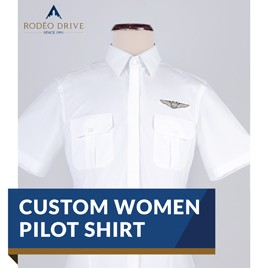 CUSTOM WOMEN PILOT SHIRT