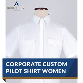 WOMEN CUSTOM CORPORATE PILOT SHIRT