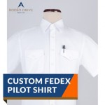 CUSTOM FEDEX PILOT SHIRT