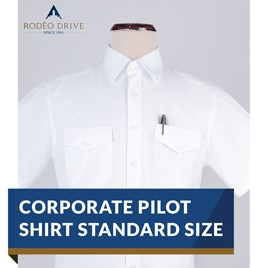 CORPORATE PILOT SHIRT STANDARD SIZE