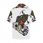 P-40 SHARK ATTACK HAWAIIAN SHIRT