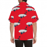 A 320 MOTHER D RED HAWAIIAN SHIRT
