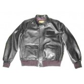 A - E Airline Flight Leather Jacket