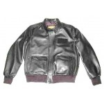 A - E Airline Flight Pilot Uniform Leather Jacket