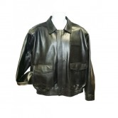 Mens FedEx Leather Jacket with Zip-Out Torso Thinsulate Liner