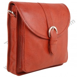 Brahmin Red Cross Body Handbag