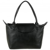 Long Chmp small layover Black handbag