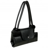 Long Chmp Full leather Handbag